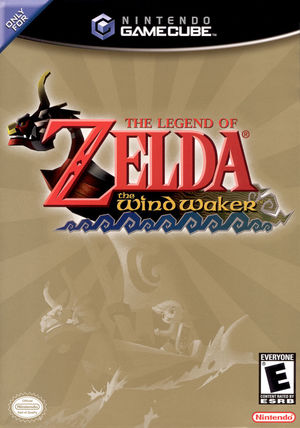 Cover for The Legend of Zelda: The Wind Waker.