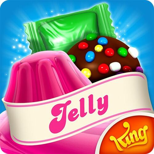 Cover for Candy Crush Jelly Saga.