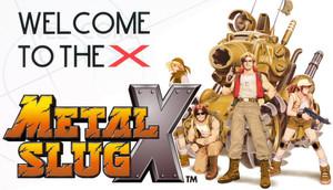 Cover for Metal Slug X.