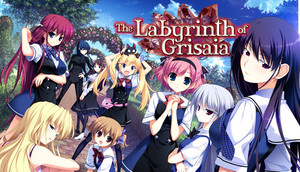 Cover for The Labyrinth of Grisaia.