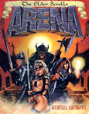 Cover for The Elder Scrolls: Arena.