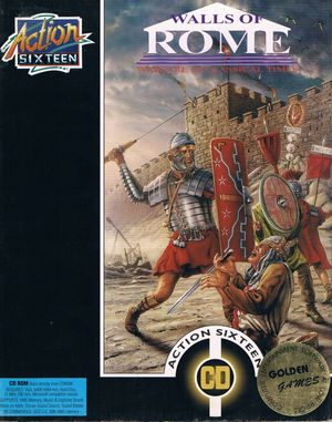 Cover for Walls of Rome.