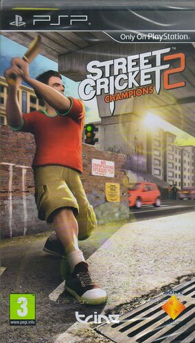 Cover for Street Cricket Champions 2.
