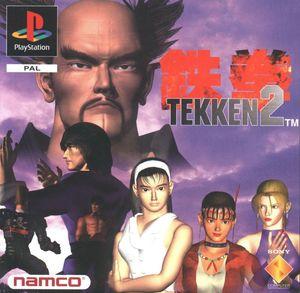 Cover for Tekken 2.