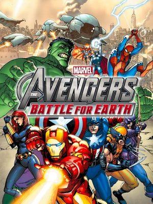 Cover for Marvel Avengers: Battle for Earth.