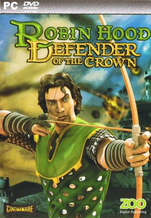 Cover for Robin Hood: Defender of the Crown.