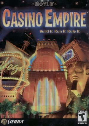 Cover for Casino Empire.