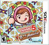 Cover for Cooking Mama 5: Bon Appétit!.