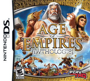 Cover for Age of Empires: Mythologies.