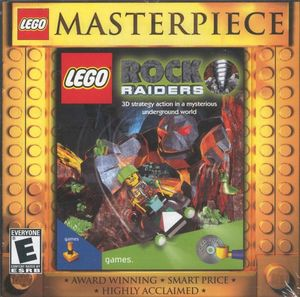 Cover for Lego Rock Raiders.
