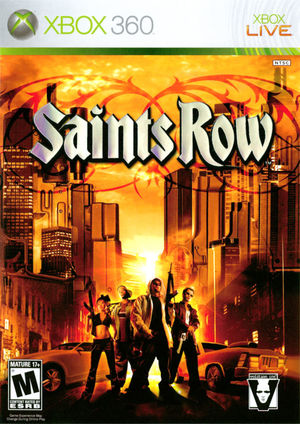 Cover for Saints Row.