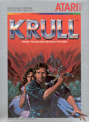 Cover for Krull.