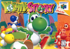Cover for Yoshi's Story.