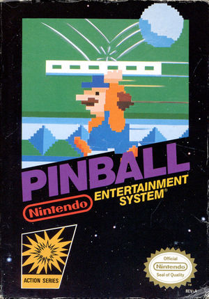 Cover for Pinball.