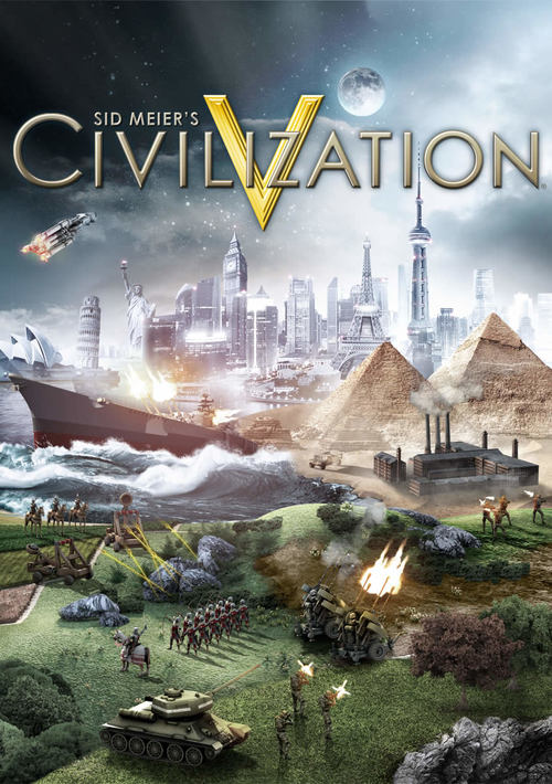 Cover for Civilization V.