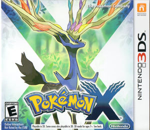 Cover for Pokémon X.