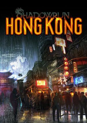 Cover for Shadowrun: Hong Kong.