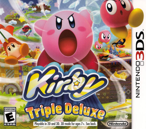 Cover for Kirby: Triple Deluxe.