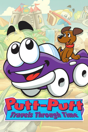 Cover for Putt Putt Travels Through Time.