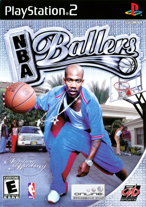 Cover for NBA Ballers.