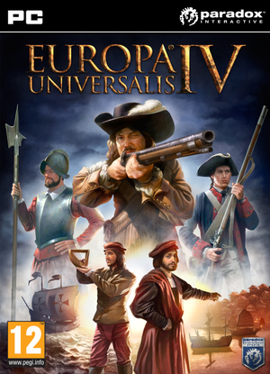 Cover for Europa Universalis IV.