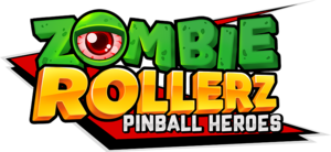 Cover for Zombie Rollerz: Pinball Heroes.