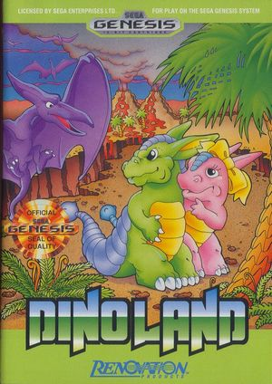 Cover for Dino Land.