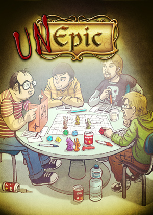 Cover for Unepic.