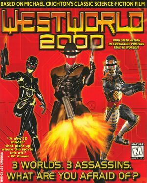 Cover for Westworld 2000.