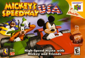 Cover for Mickey's Speedway USA.
