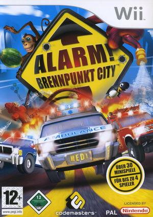 Cover for Emergency Mayhem.
