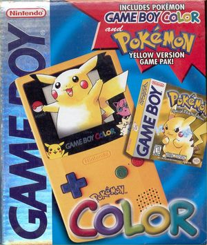 Cover for Pokémon Yellow.