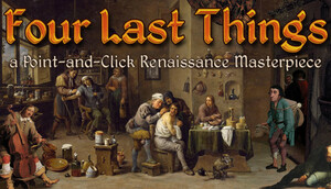 Cover for Four Last Things.