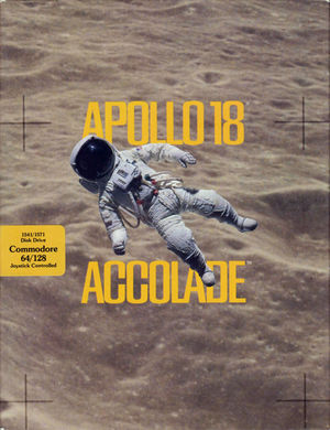 Cover for Apollo 18: Mission to the Moon.