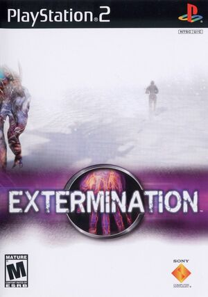 Cover for Extermination.