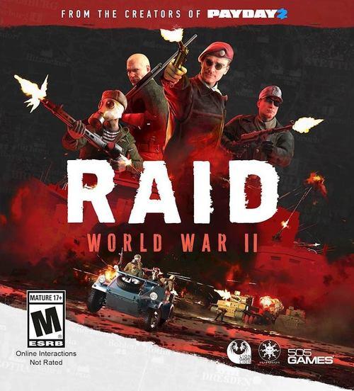 Cover for Raid: World War II.