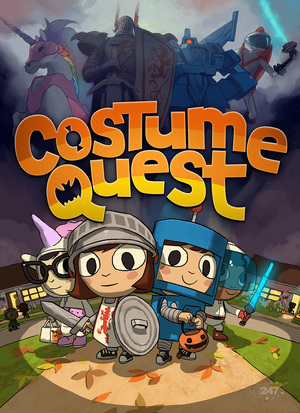 Cover for Costume Quest.