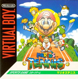 Cover for Mario's Tennis.