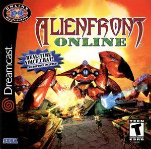 Cover for Alien Front Online.