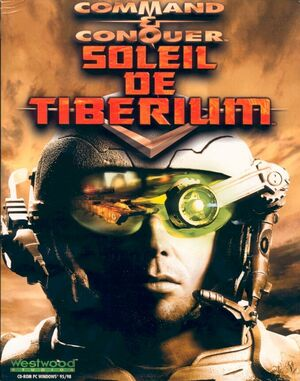 Cover for Command & Conquer: Tiberian Sun.