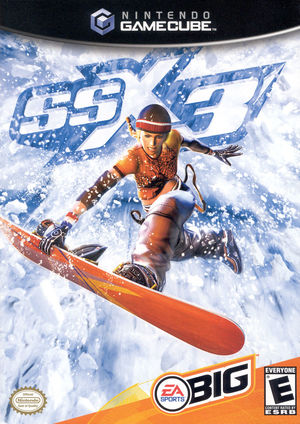Cover for SSX 3.