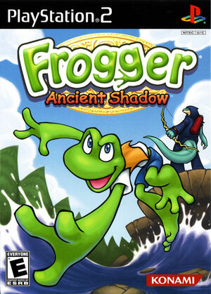 Cover for Frogger: Ancient Shadow.