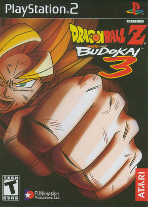 Cover for Dragon Ball Z: Budokai 3.