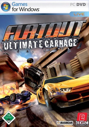 Cover for FlatOut: Ultimate Carnage.