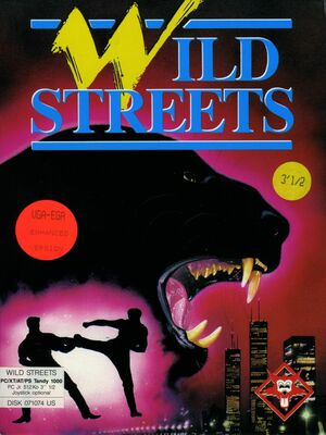 Cover for Wild Streets.