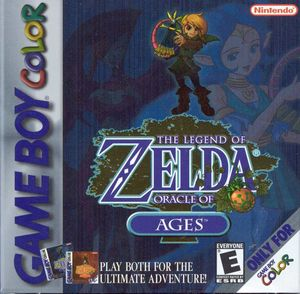 Cover for The Legend of Zelda: Oracle of Ages.