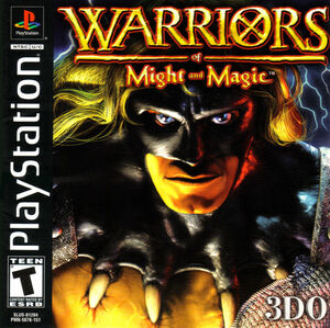 Cover for Warriors of Might and Magic.