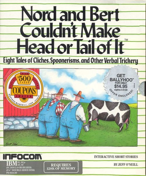 Cover for Nord and Bert Couldn't Make Head or Tail of It.