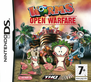 Cover for Worms: Open Warfare.