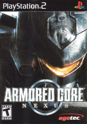Cover for Armored Core: Nexus.